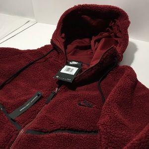 NWT Nike Tech Fleece Icon Sherpa Windrunner 2XL